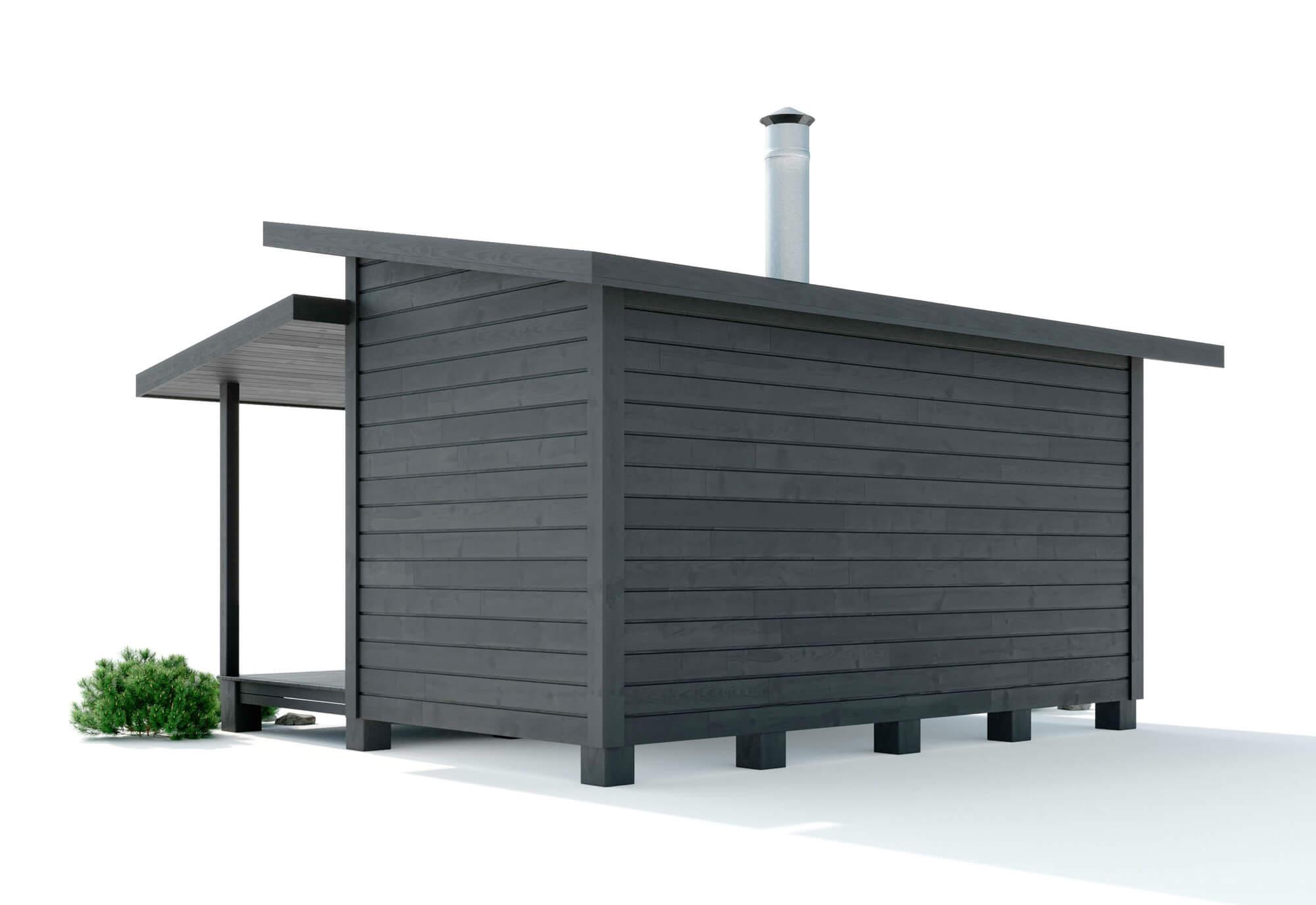 onnela-sauna takaapäin
